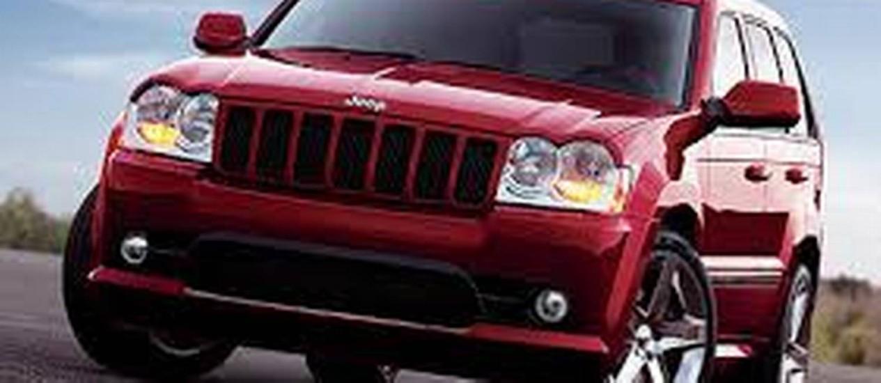 Chrysler convoca os proprietários dos veículos Jeep Grand Cherokee e Dodge Durango para recall Foto: Reprodução