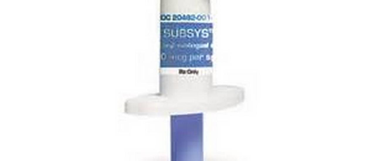 Subsys. Analgésico oral para pacientes com câncer Foto: Reprodução