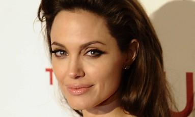 A atriz Angelina Jolie Foto: PIERRE-PHILIPPE MARCOU/AFP