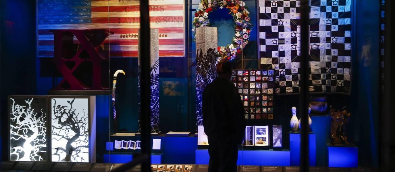 Museu expõe objetos nunca vistos pelo público, como itens pessoas e gravações de voz Foto: SHANNON STAPLETON / REUTERS