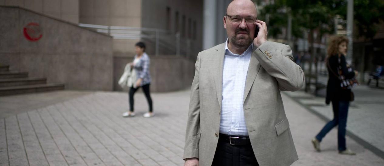 Mario Costeja González, cujo caso levou à decisão da corte sobre exclusão dos links: ele não queria que aviso sobre suas dívidas ficasse vísivel em resultados de busca. Foto: / Foto Reuters