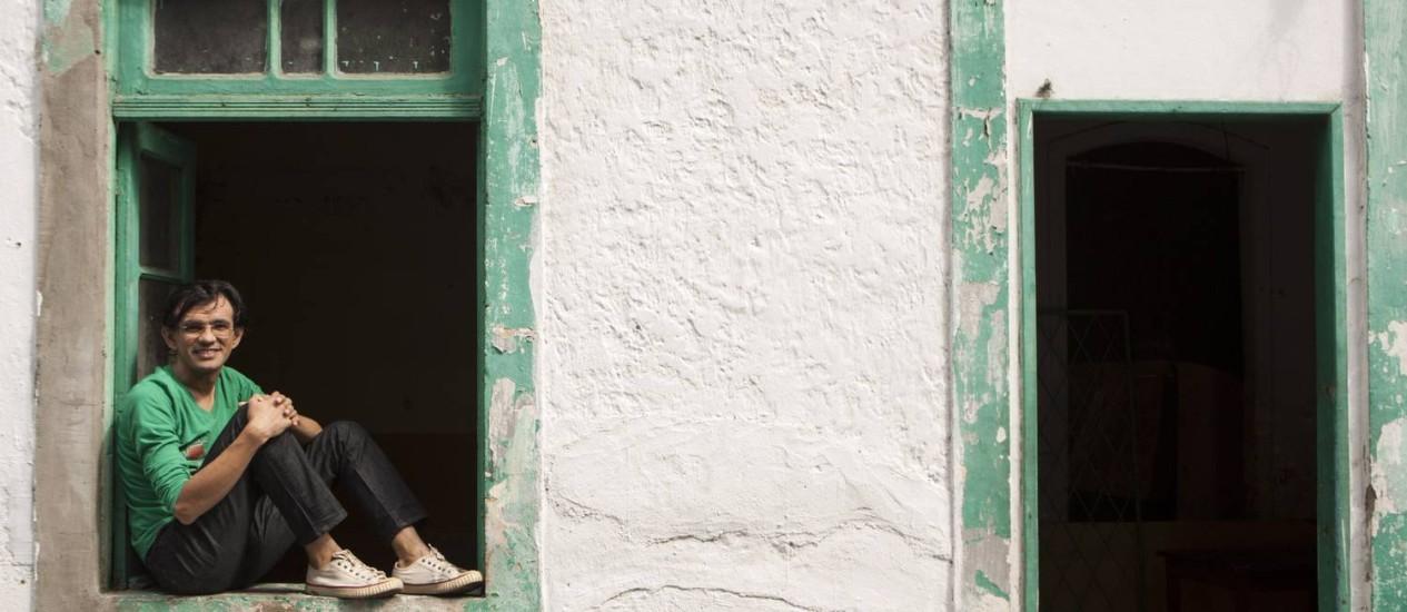 Viva a arte. Wal diz amar o que faz e se diz aberto a incentivos Foto: Guilherme Leporace