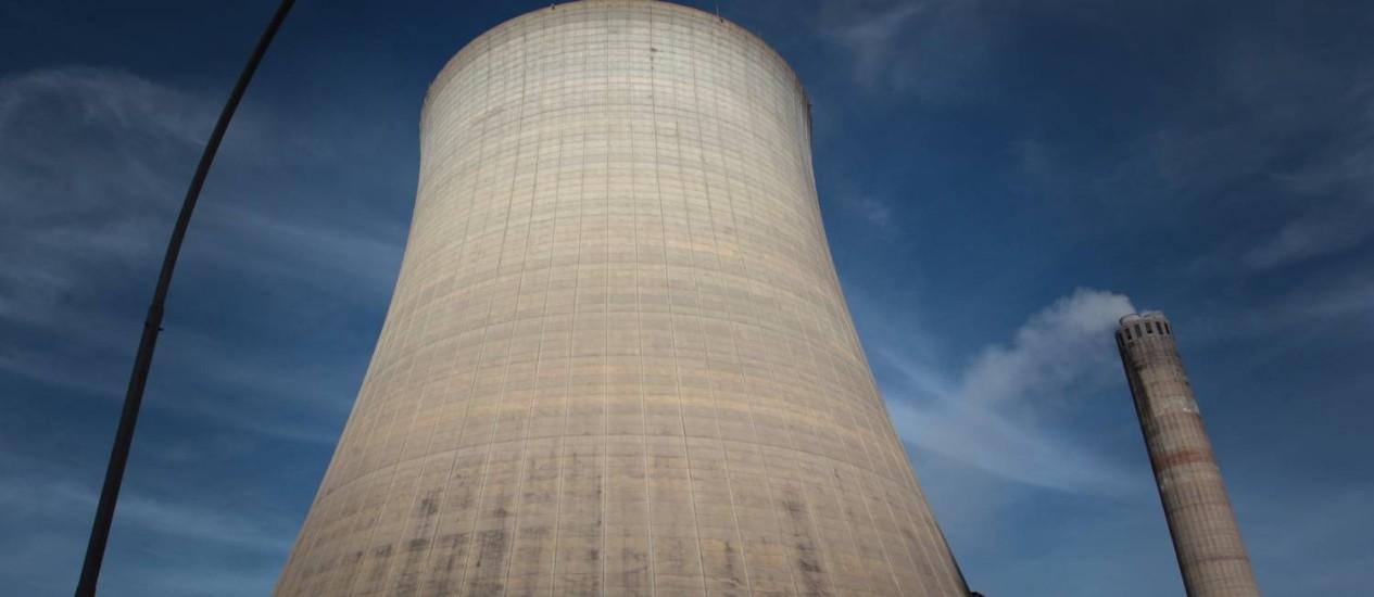 Usina térmica de carvão mineral, no Rio Grande do Sul Foto: Michel Filho/16-6-2012