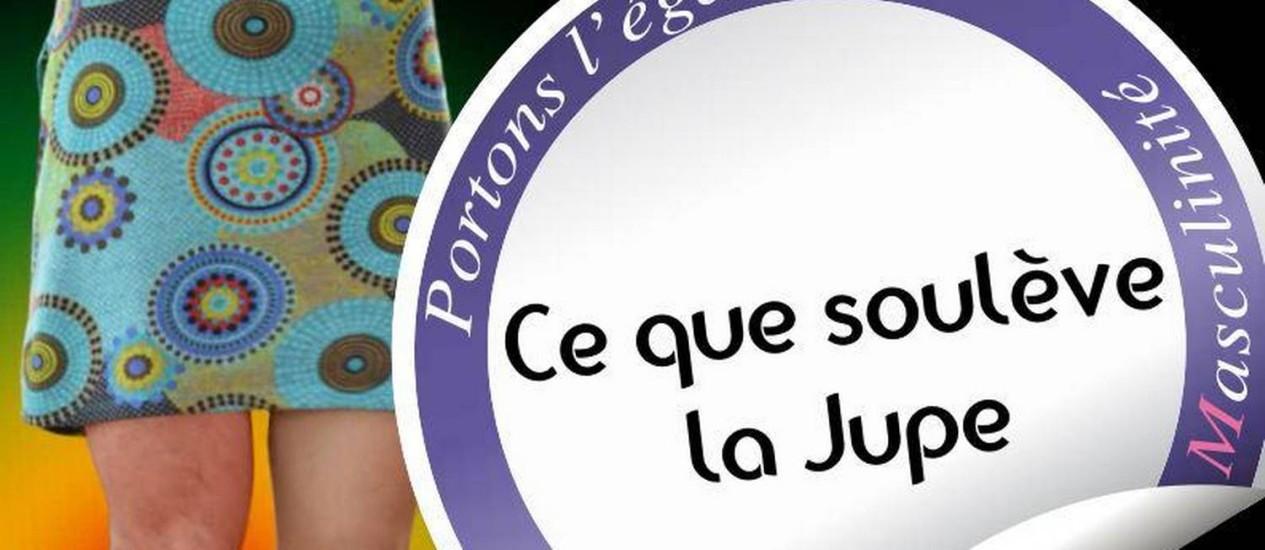 """Campanha de combate ao sexismo na França: """"Levante a saia"""", """"Promova a igualdade"""" Foto: Reprodução"""