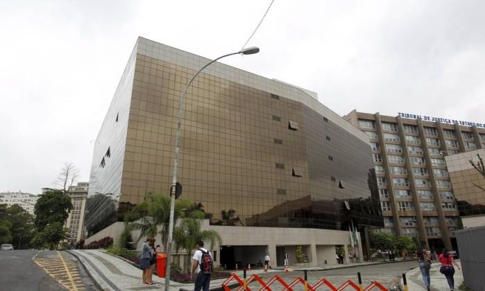 Prédio do Tribunal de Justiça, no Centro do Rio Foto: Gabriel de Paiva / Agência O Globo