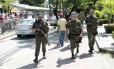 Agentes da Força Nacional reforçam a segurança em Recife
