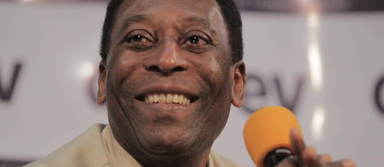 Pelé quer revanche contra o Uruguai na Copa do Mundo Foto: Eliaria Andrade / Agência O Globo
