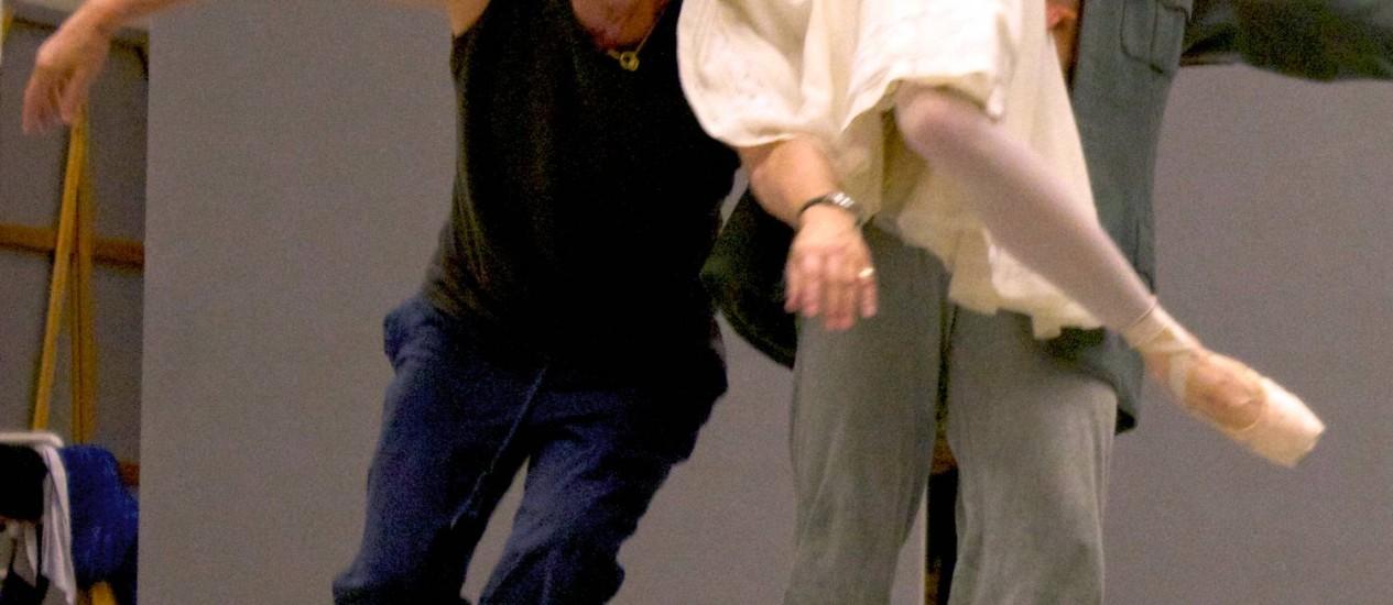 John Neumeier. O coreógrafo criou obra baseada em sinfonia de Haydn para o grupo Foto: Divulgação / Divulgação
