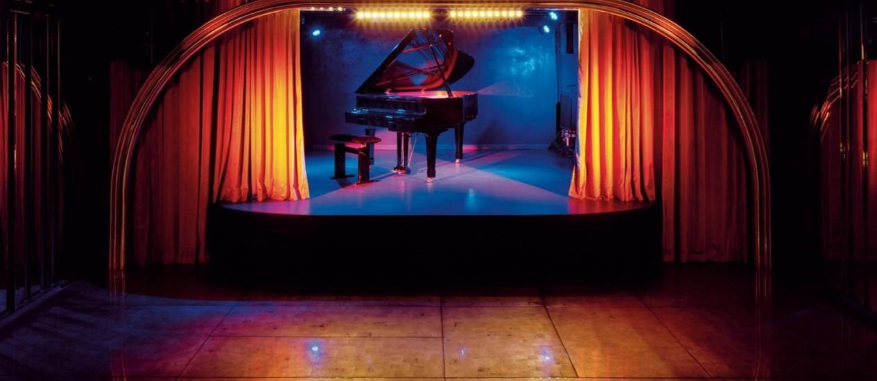 """Um dos ambientes do clube, inspirado no filme """"Cidade dos Sonhos"""": público não pode tirar fotos Foto: Divulgação"""