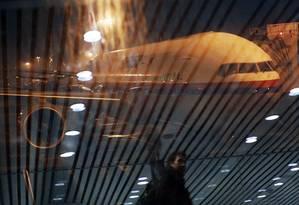 Um Boeing da Malaysia Airlines no aeroporto internacional de Kuala Lumpur Foto: REUTERS-17-3-2014