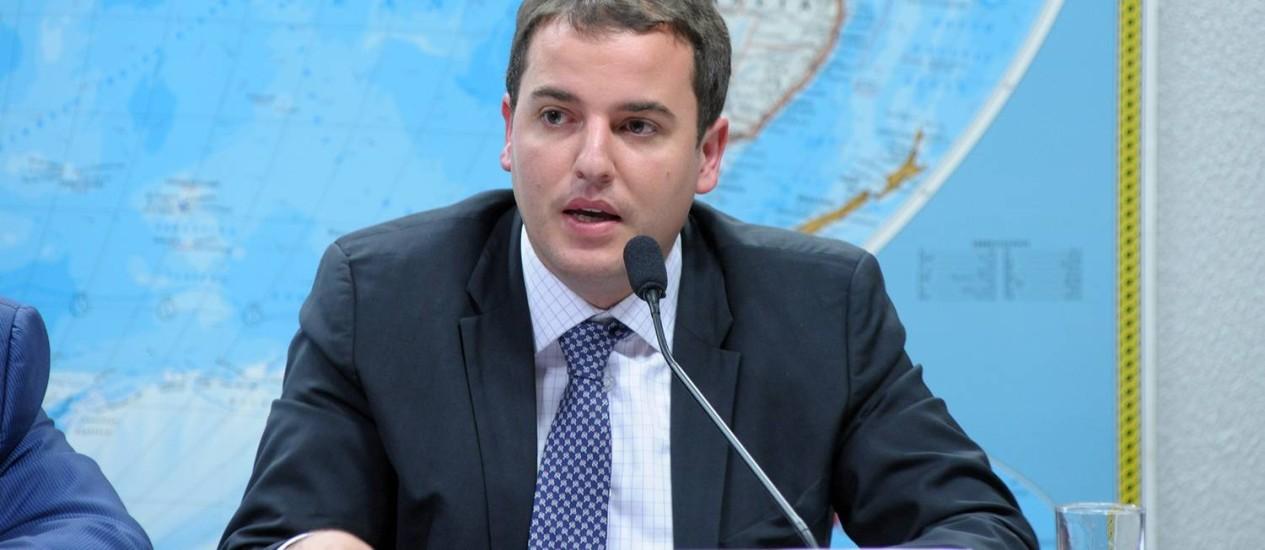 O deputado Gabriel Guimarães, relator da proposta Foto: LUÍS MACEDO / AGÊNCIA CÂMARA