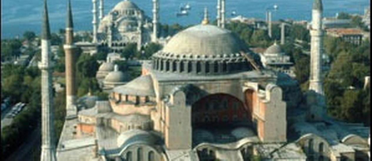 Disputada. A Basílica de Santa Sofia, em Istambul Foto: Divulgação