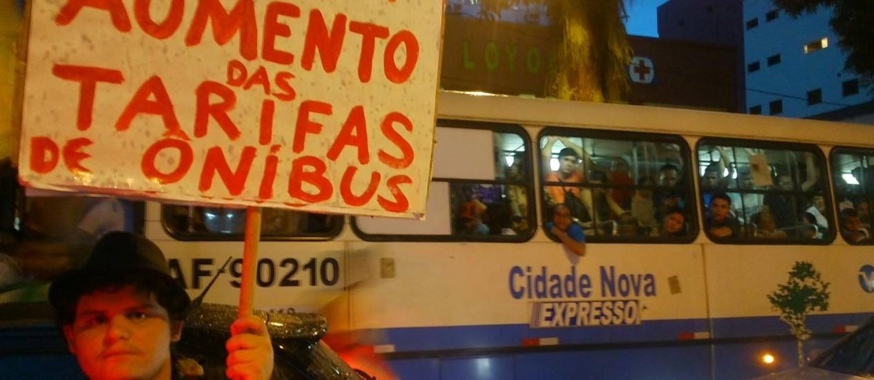 Tarifa de ônibus pode aumentar de R$ 2,20 para R$ 2,50 Foto: Victor Furtado
