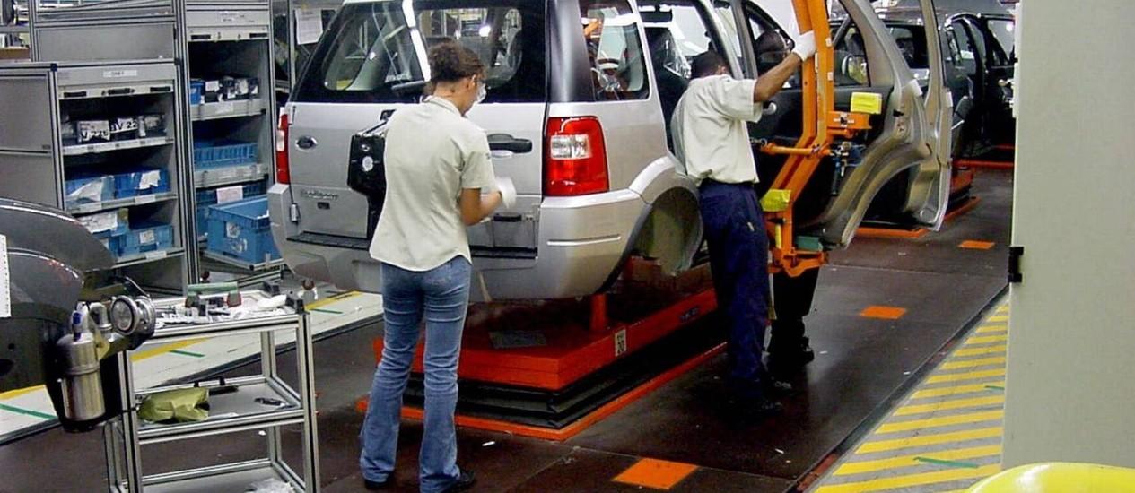 Montadoras usam o sistema de 'layoff' Foto: Divulgação / O Globo