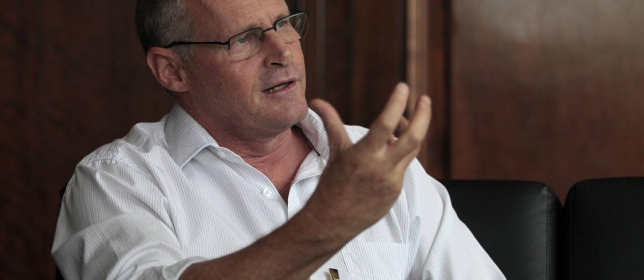 Beltrame é investigado por improbidade Foto: Bruno Gonzalez / Agência O Globo