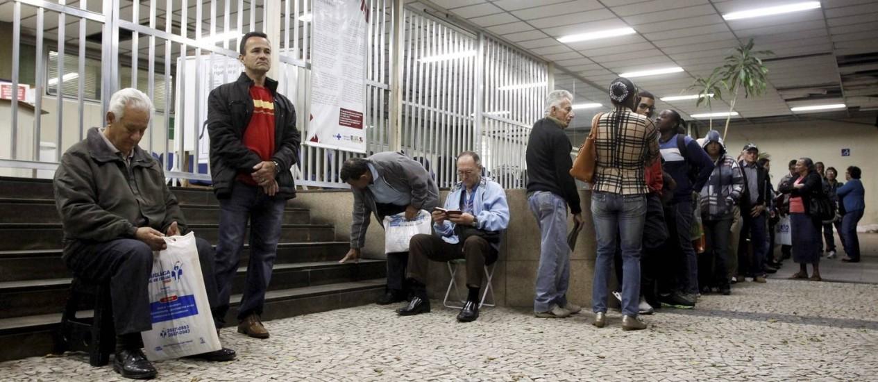 Hospital dos Servidores lidera ranking de espera por cirurgias Foto: Custódio Coimbra / Agência O Globo (26/09/2013)