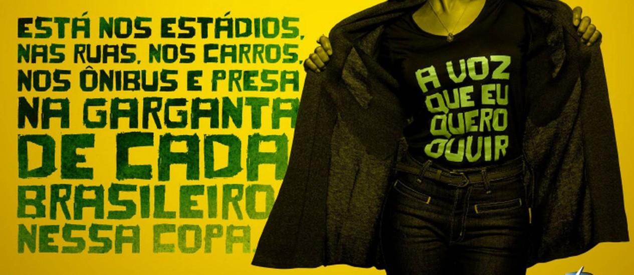 Associação Brasileira de Emissoras de Rádio e TV lançou campanha para flexibilizar hora da Voz do Brasil: senado defende pela continuação da medida Foto: Abert / Divulgação
