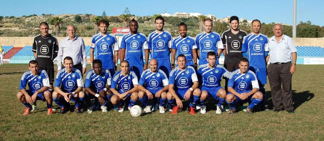 A seleção de Gozo. A ilha, que faz parte de Malta, sediou a edição de 2010 Foto: Divulgação