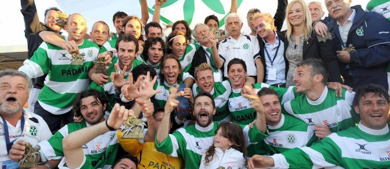 A seleção da Padania ganhou três edições do torneio em 2008, 2009 e 2010 Foto: Divulgação