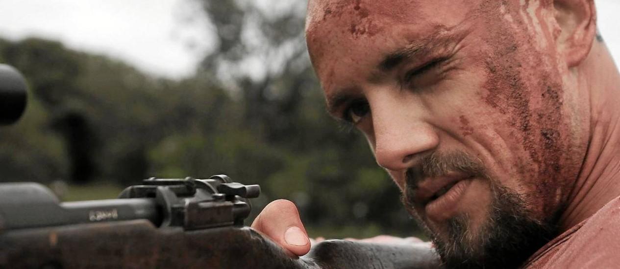 Psicopata. Rafael Cardoso na série que estreia em agosto no GNT Foto: Divulgação / Divulgação/GNT