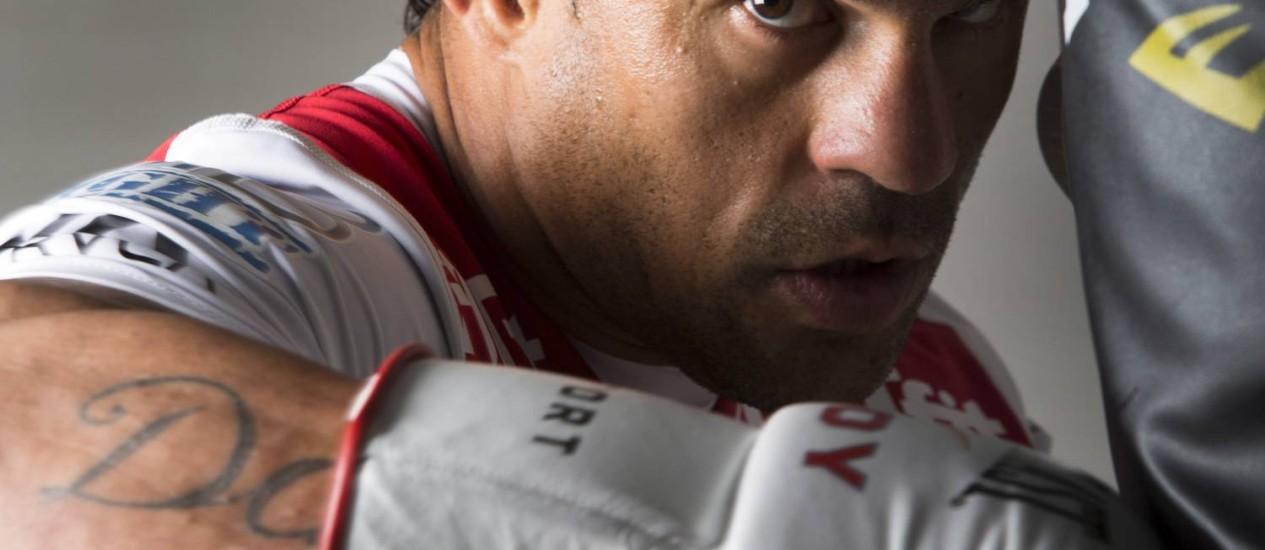 Vitor Belfort fez teste para melhorar performance Foto: Ana Branco / Agência O Globo
