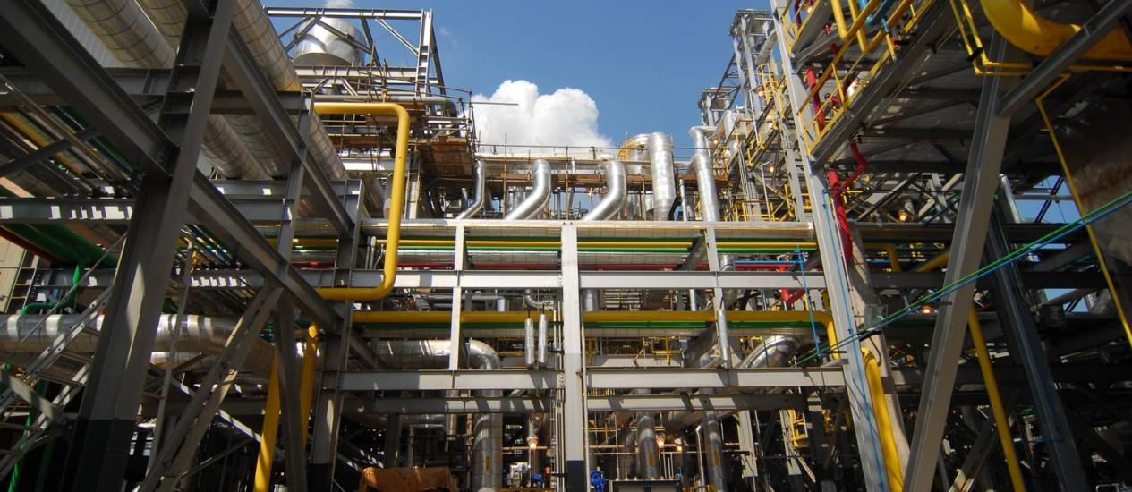 A termelétrica de Euzébio Rocha, no Rio de Janeiro: usinas já estão usando mais gás do que indústrias Foto: Divulgação/11-01-2013