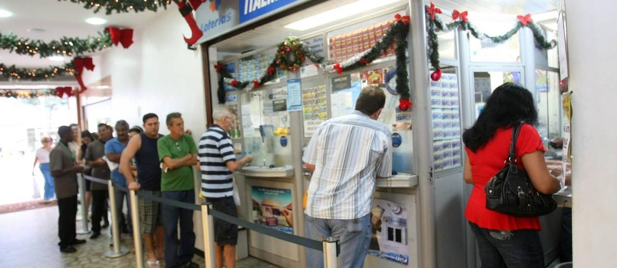 Valor da aposta é de R$ 2,50 Foto: Felipe Hanower / Agência O Globo