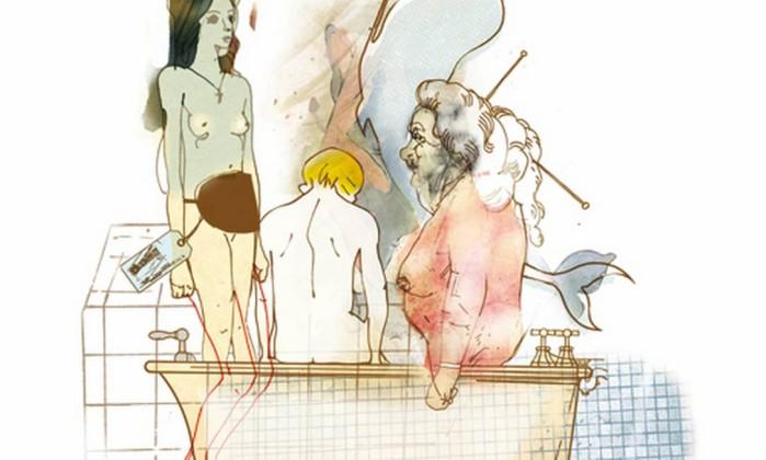 Ilustração de Cavalcante para conto de Paulo Scott Foto: Cavalcante