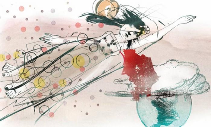 Ilustração de Cavalcante para conto de Rodrigo Fresán Foto: .