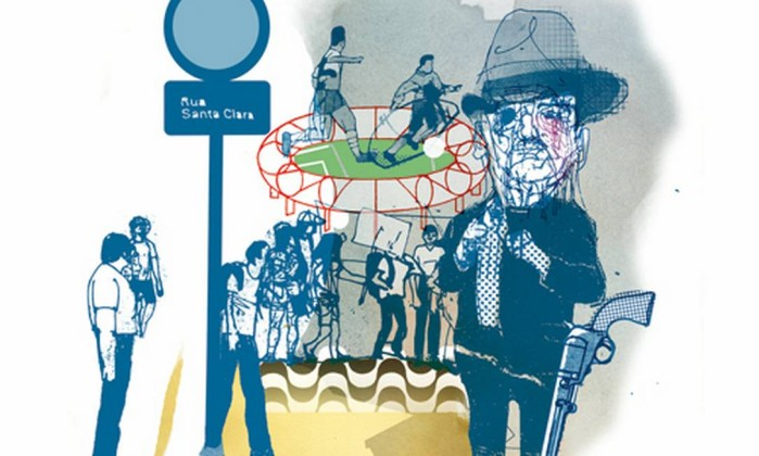 Ilustração de Cavalcante para conto de Edmundo Paz Soldán Foto: .