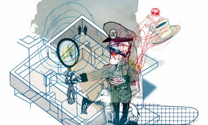 Ilustração de Cavalcante para conto de Rafael Gutiérrez Foto: .