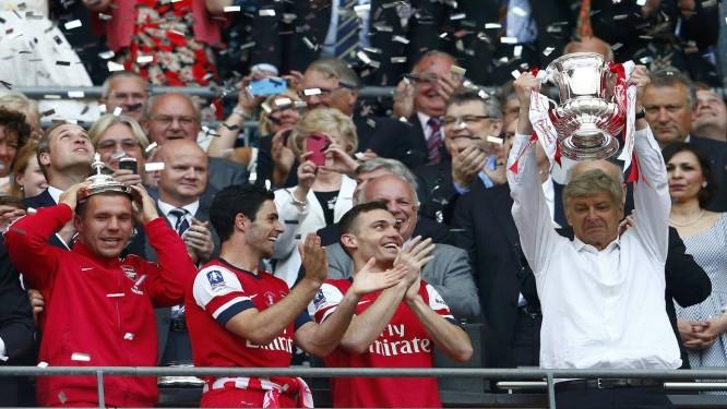 Arsene Wenger, técnico do Arsenal Foto: Eddie Keogh / Reuters