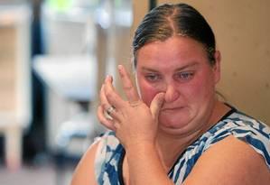 Roseli Ritzel, mãe de Max, de 14 anos, que morreu em março, vítima de acidente de trabalho Foto: Agência O Globo / Nabor Goulart