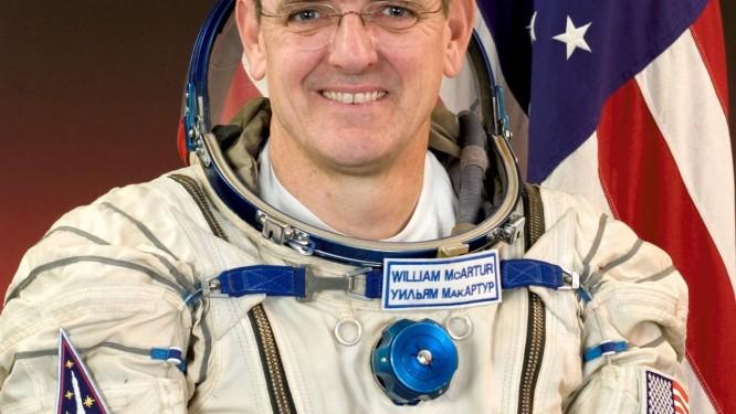 Astronauta William McArthur já fez parte de quatro viagens espaciais Foto: Divulgação