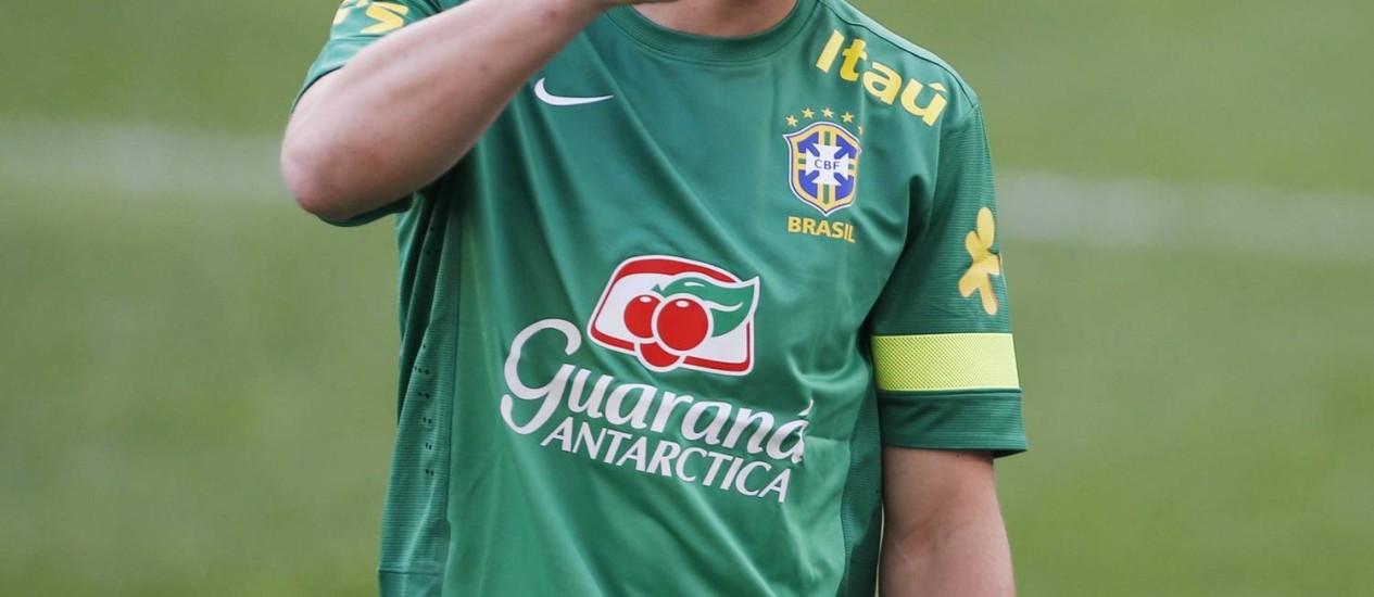 David Luiz em foto de arquivo Foto: Kim Hong-Ji / Reuters