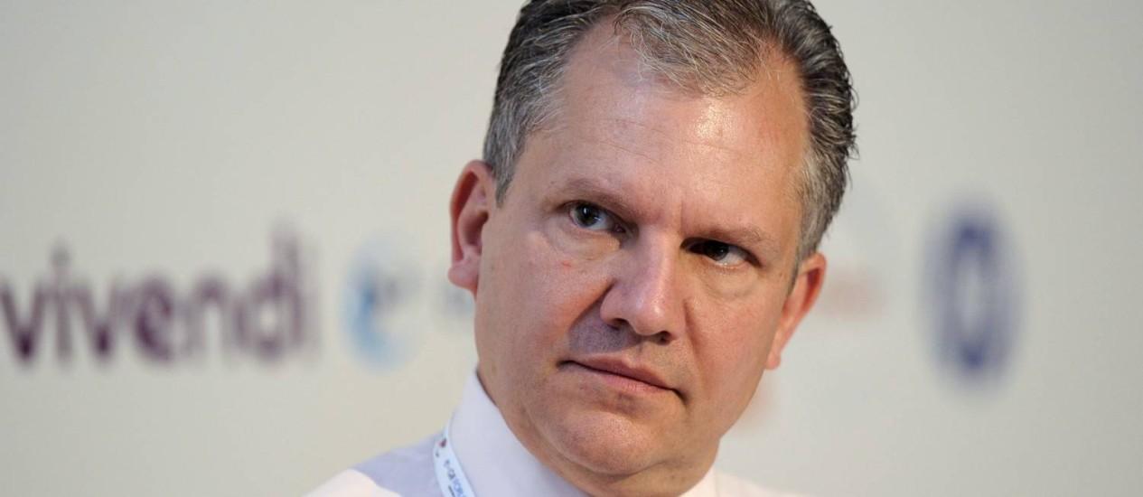 Presidente do jornal 'The New York Times', Arthur Sulzberger Jr., no fórum eG8 em Paris, em maio de 2011 Foto: GONZALO FUENTES / REUTERS
