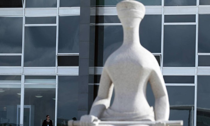 Fachada do prédio do STF em Brasília Foto: Jorge William/Agência O Globo