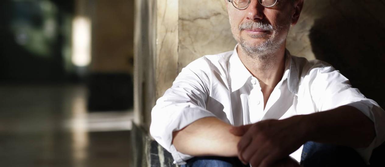Michel Machalski, roteirista, consultor e educador: 'Não é qualquer um que é Glauber Rocha' Foto: Daniela Hallack Dacorso / Agência O Globo
