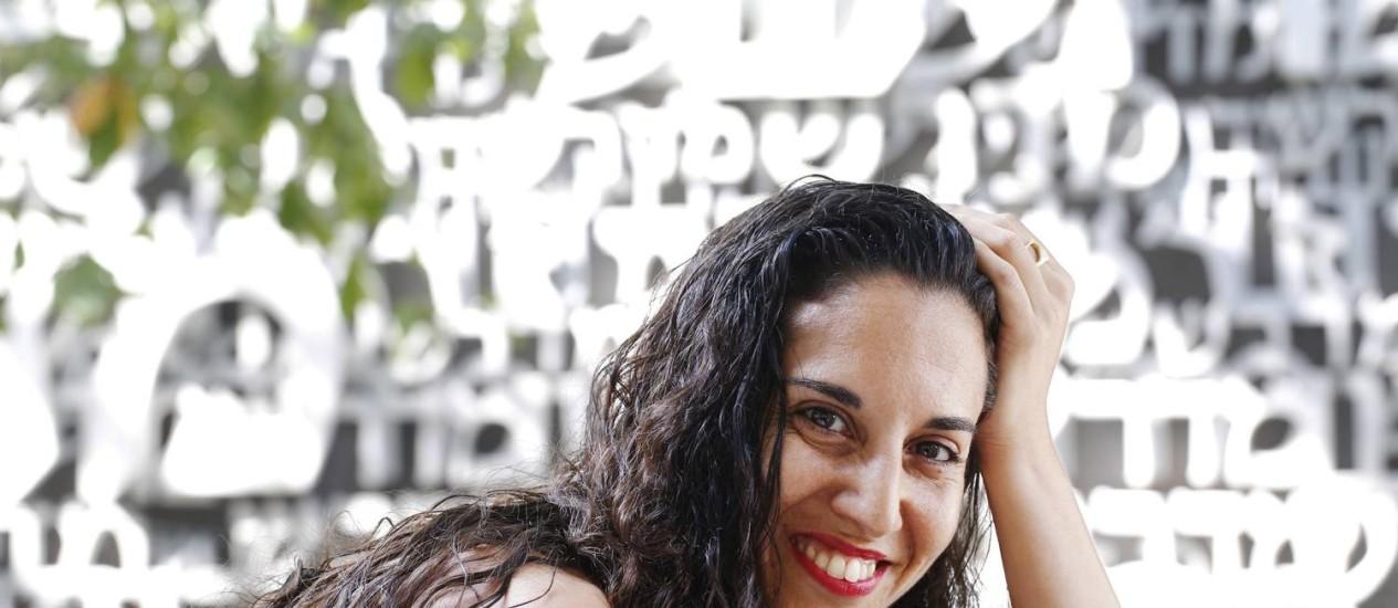 Noa Paled, cantora israelense que se dedica à MPB: 'Quando saí do Exército, fui aprender português' Foto: Ana Branco / Agência O Globo