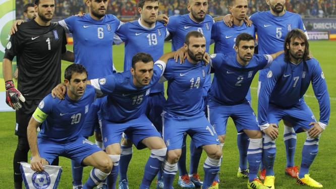 Grécia é a primeira seleção a definir os 23 convocados para Copa. Foto: Daniel Mihailescu - Agência O Globo