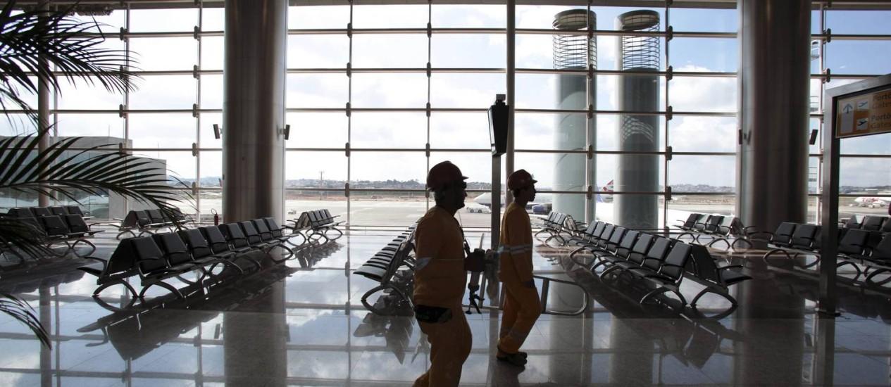 O novo terminal de Guarulhos Foto: STRINGER/BRAZIL / REUTERS