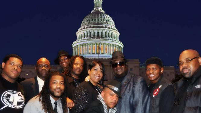 O grupo americano Trouble Funk: de Washington para a Bahia Foto: Divulgação