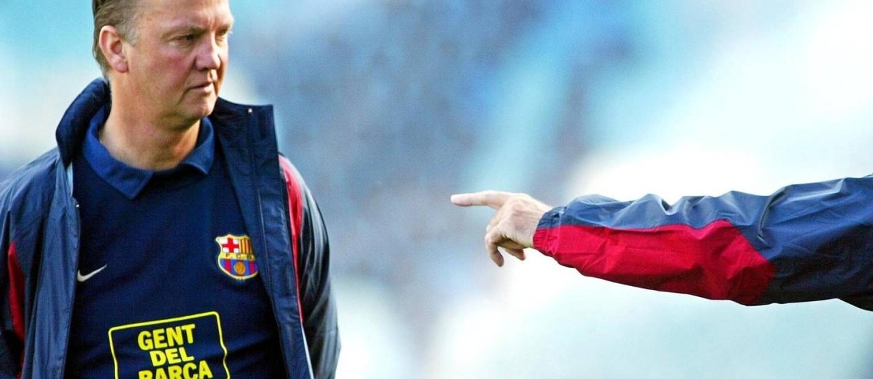 Louis Van Gaal é o novo técnico do Manchester United Foto: Miguel Ruiz / Arquivo