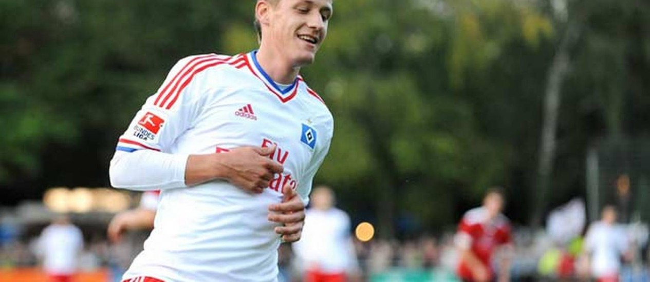 Ivo Ilicevic está fora da Copa Foto: Divulgação Hamburgo