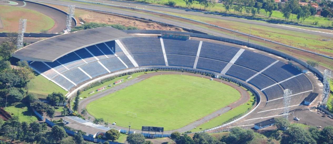 Estádio do Café, em Londrina: reduto de corintianos Foto: Divulgação / Site oficial do Figueirense