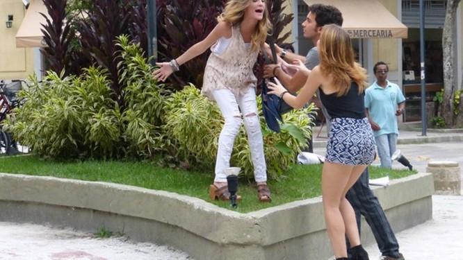"""Sofia conta que está grávida de Ben em """"Malhação"""" Foto: Reprodução"""