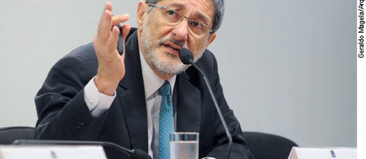 Ex-presidente da Petrobras José Sergio Gabrielli Foto: Arquivo Agência Senado