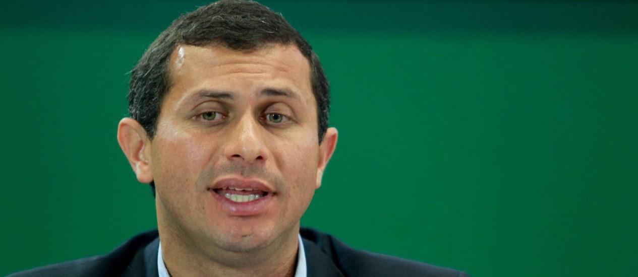 O deputado estadual Felipe Peixoto será o novo secretário estadual de Saúde. Foto de 19/05/2014 Foto: Pedro Kirilos / O Globo