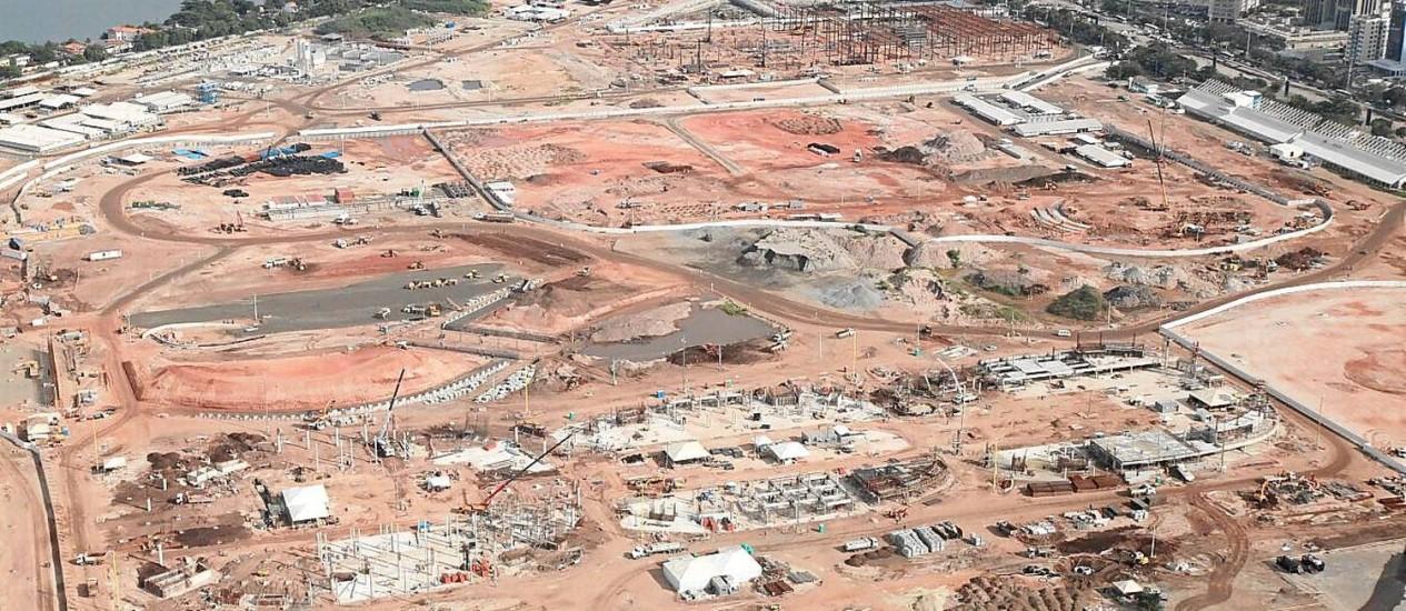 As obras do Parque Olímpico de Deodoro Foto: Parceiro / Genilson Araújo / 07-05-2014