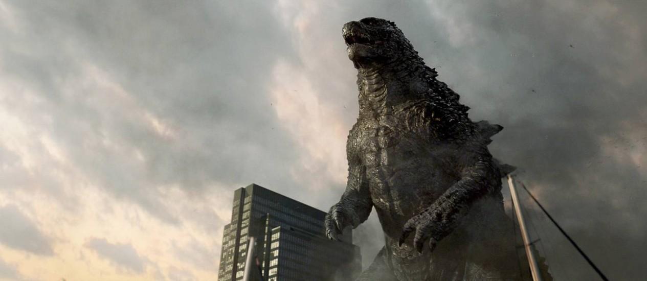 Cena do remake de 'Godzilla' Foto: Divulgação